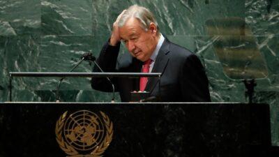 """ONU alerta una nueva degradación del mundo; estamos al """"borde del precipicio"""", dice"""
