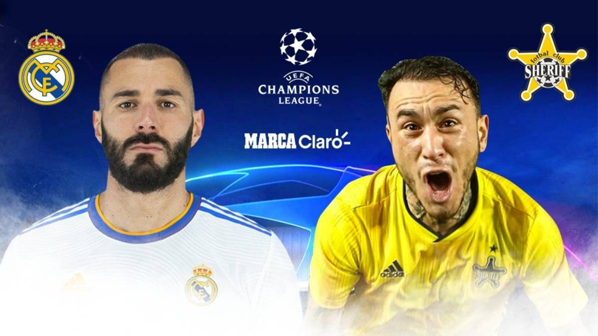 Real Madrid vs Sheriff en vivo