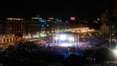 Consumación de la Independencia: Así se festejará en el Zócalo de CDMX