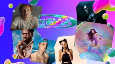 MTV EMA 2021: Justin Bieber lidera la lista, ellos son todos los nominados