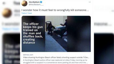 Alec Baldwin Tuit Muerte