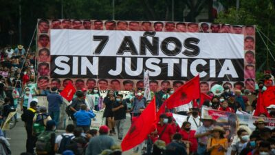 El proceso confuso de los 43 estudiantes desaparecidos de Ayotzinapa
