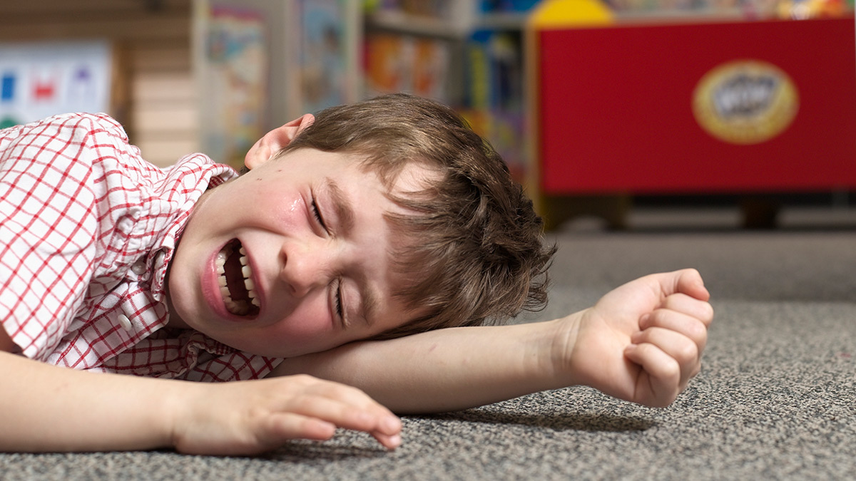 Berrinches: estrategias para manejar a los niños
