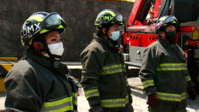 Mujeres bombero