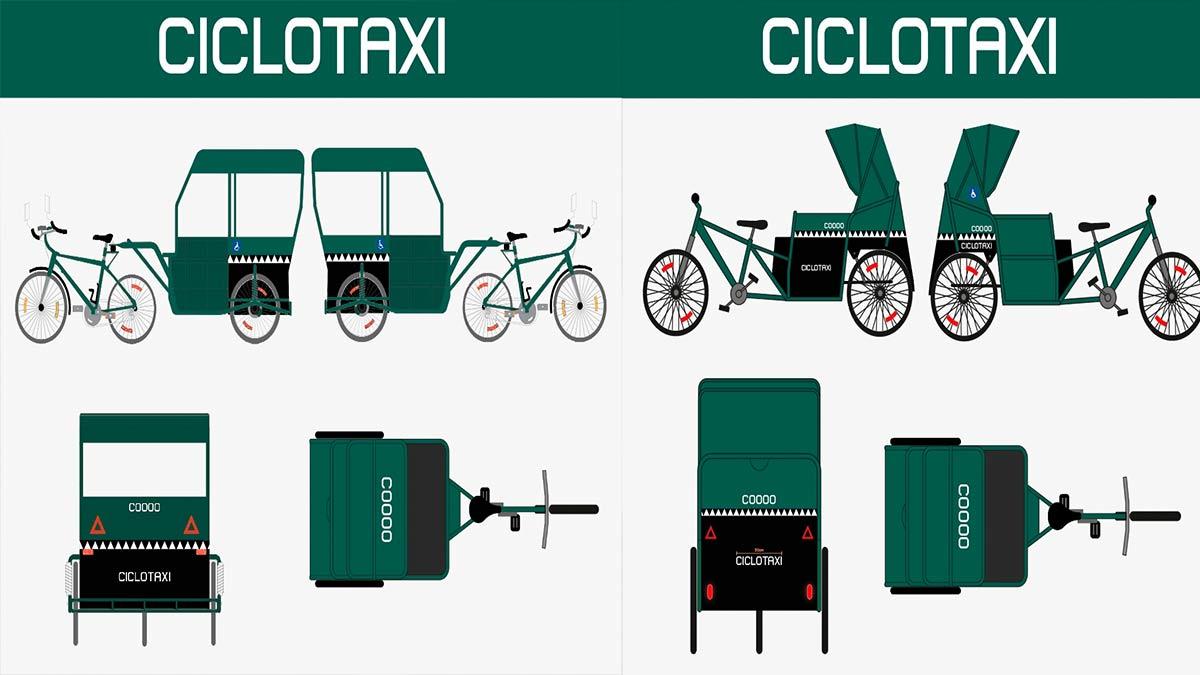 """CDMX: Cocodrilos regresan como """"ciclotaxis"""" en el centro histórico"""