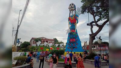 Día de Muertos 2021: Misantla, Veracruz, presume catrina monumental
