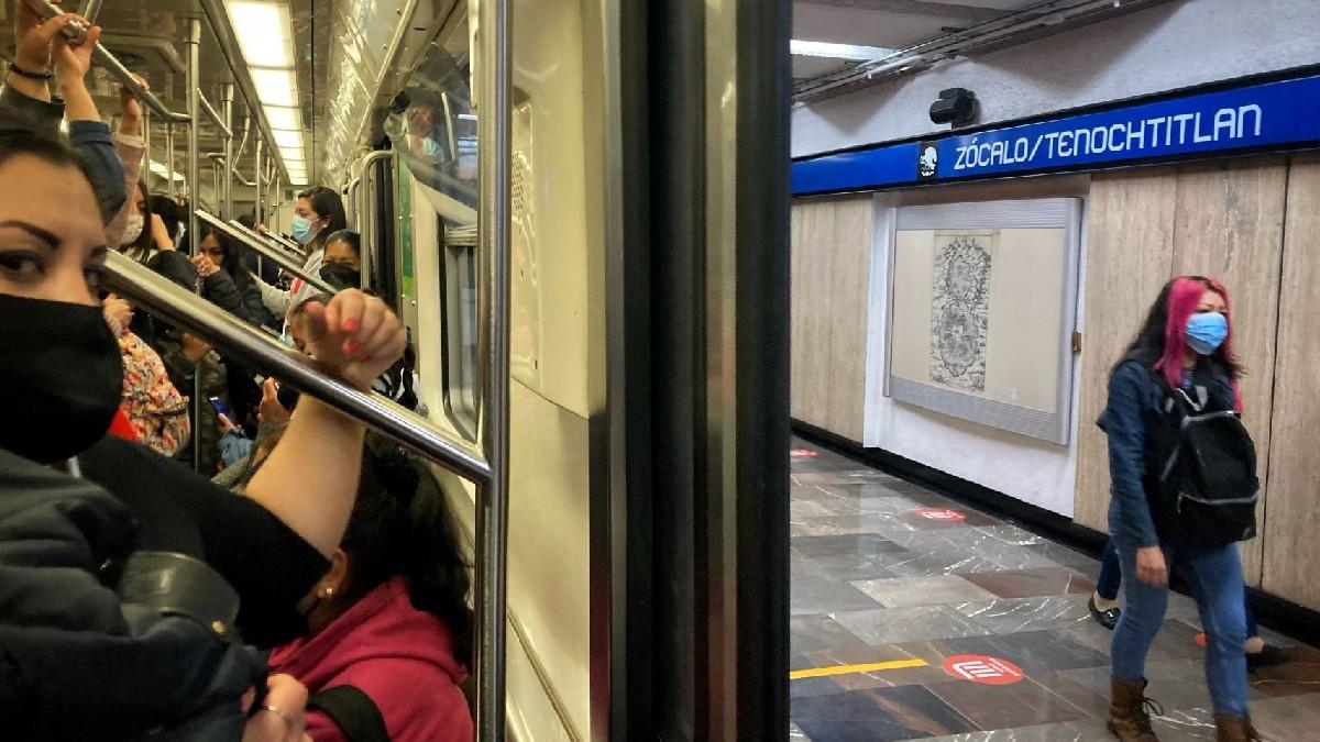 CDMX: Cierran estación del Metro Zócalo por Feria del Libro