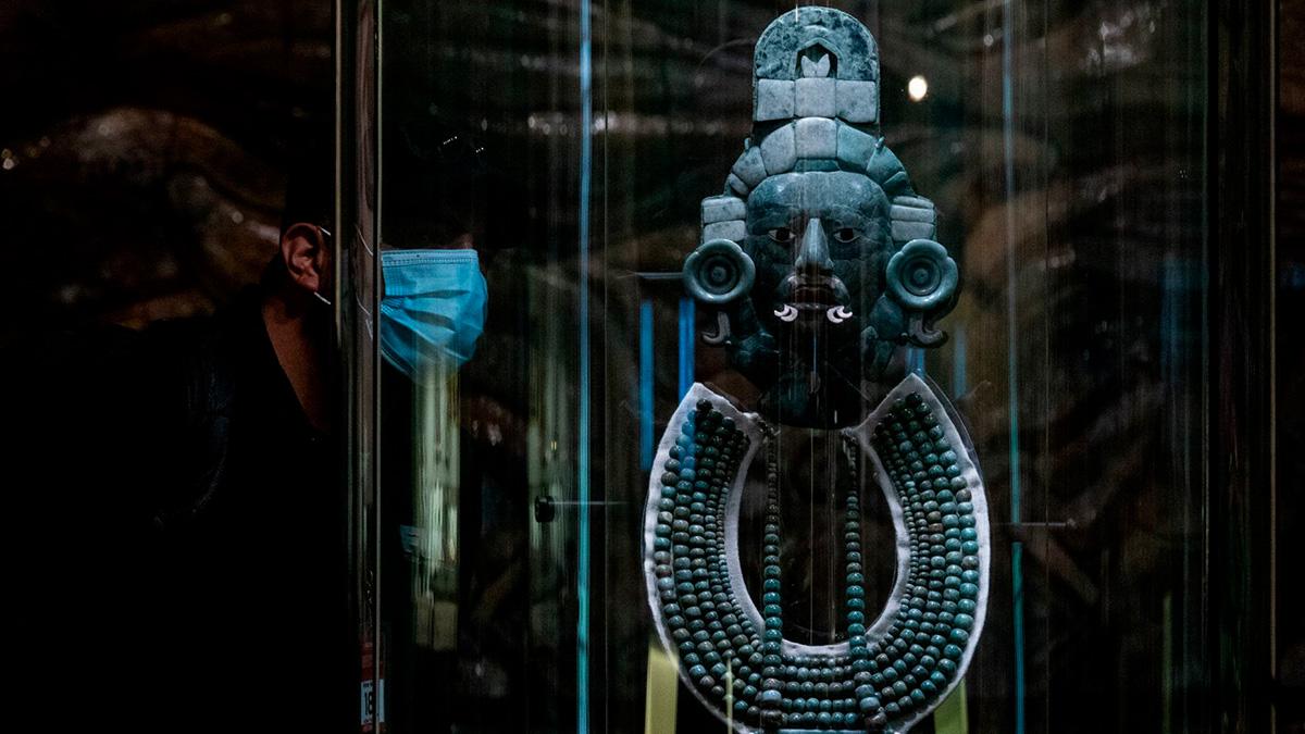 México presenta exposición con más de mil piezas prehispánicas. Foto: Cuartoscuro