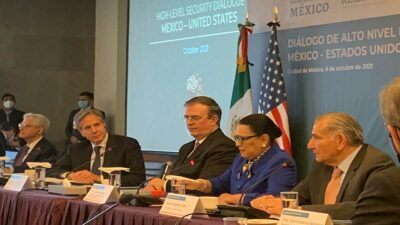 Diálogo de Alto Nivel de Seguridad: Ebrard y Blinken destacan apoyo entre México y EU