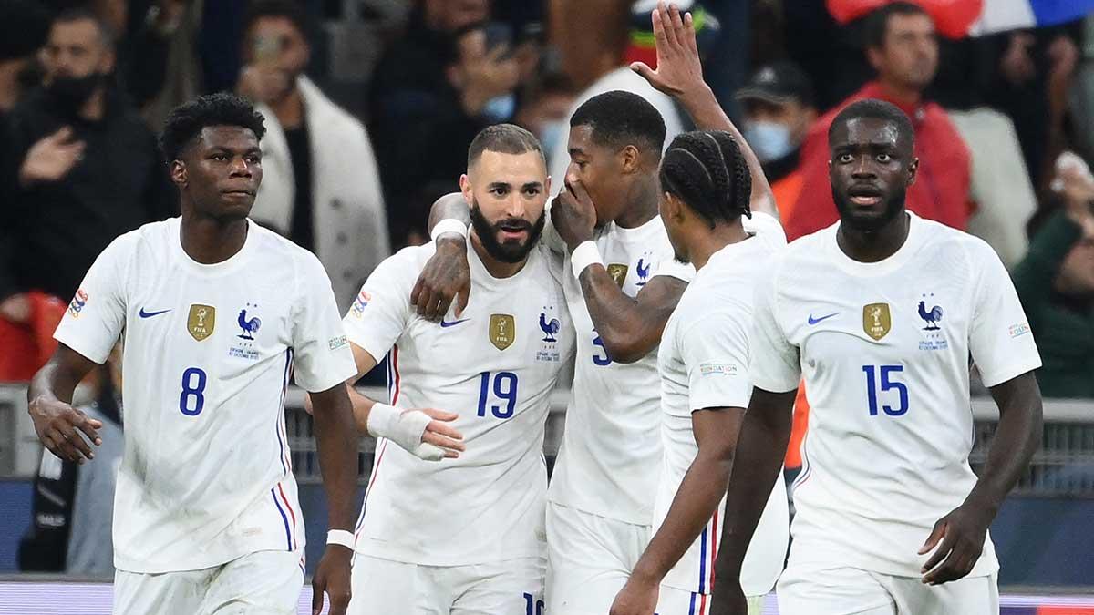 Francia sucede en el palmarés de la Nations League a Portugal. Foto: AFP