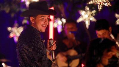 """Christian Nodal: su ex acudió a concierto y presumió que le compuso """"Te fallé"""""""