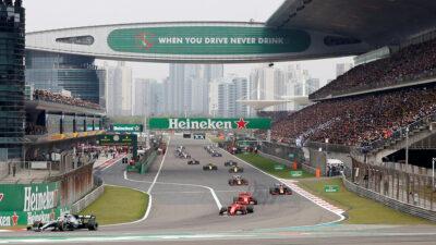 GP de China podría quedar fuera del calendario de la F1 2022