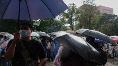 Frente frío número 2 provocará lluvias fuertes y granizo en varios estados del país
