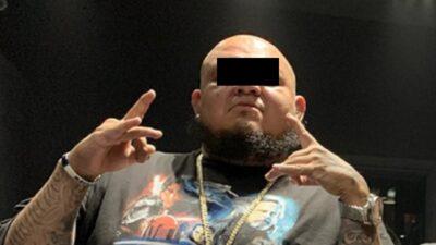 """El """"Millonario"""", del grupo musical Cartel de Santa, es detenido por homicidio"""