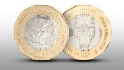 Moneda de 20 pesos se vende hasta en 33 mil en internet