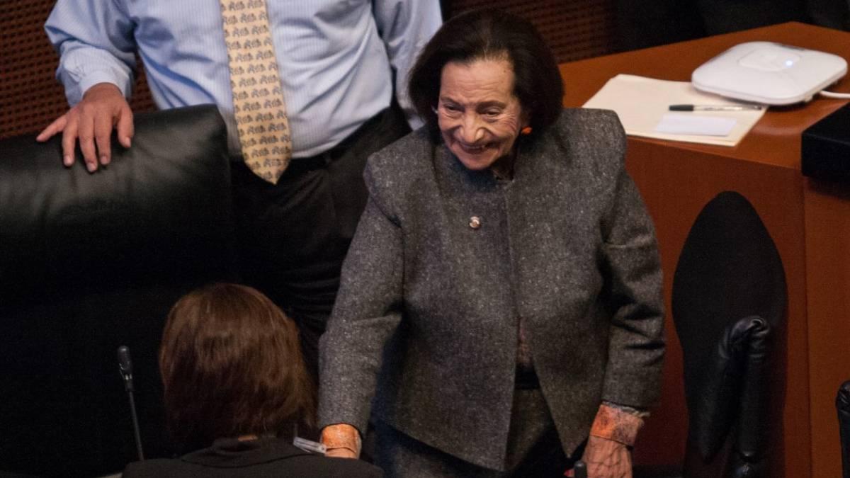 Martínez medalla Senado