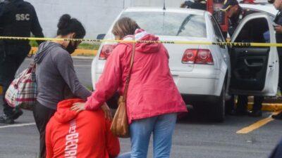 Ecatepec hombre estacionamiento