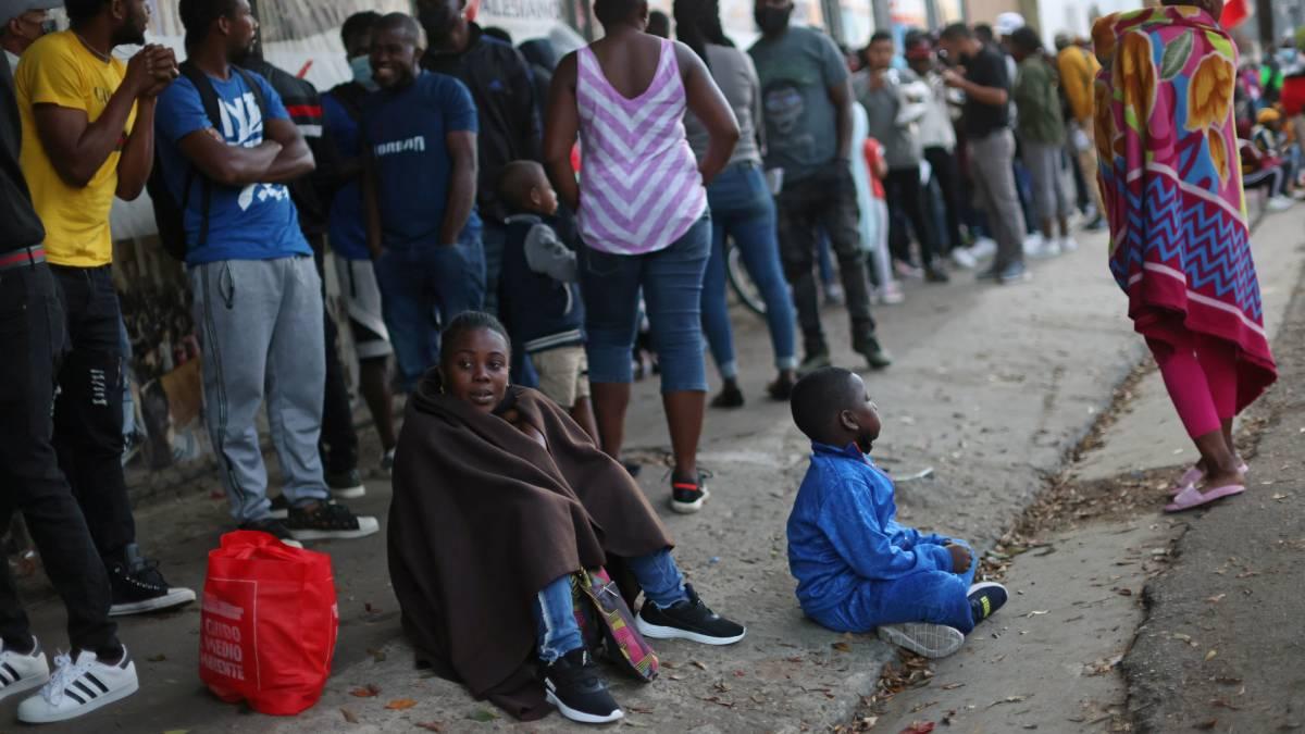Chile tráfico haitianos