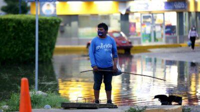 lluvia Mérida