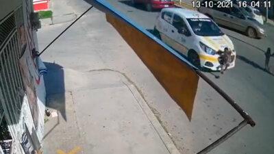 Chetumal: Difunden fuerte video de niño atropellado por taxi