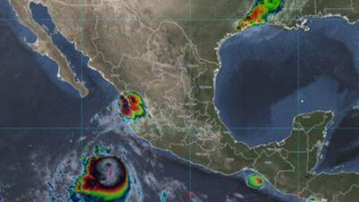 Pamela podría intensificarse a huracán al tocar Jalisco
