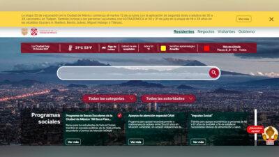CDMX estrena portal para realizar trámites y servicios en línea