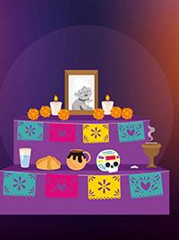 ¿Qué no puede faltar en una ofrenda de Día de Muertos?