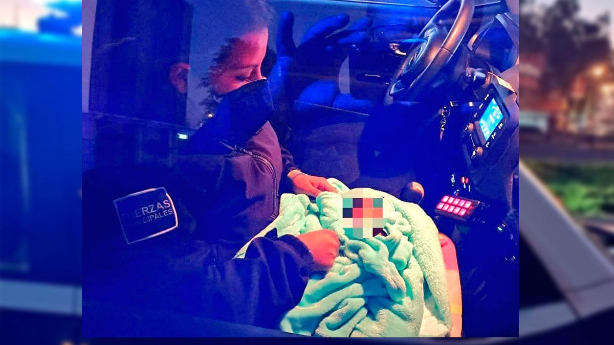 Abandonan a recién nacido en su camioneta en Puebla