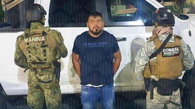 """Detienen al """"Rex"""" en CDMX, líder de banda criminal; UIF congela sus cuentas"""