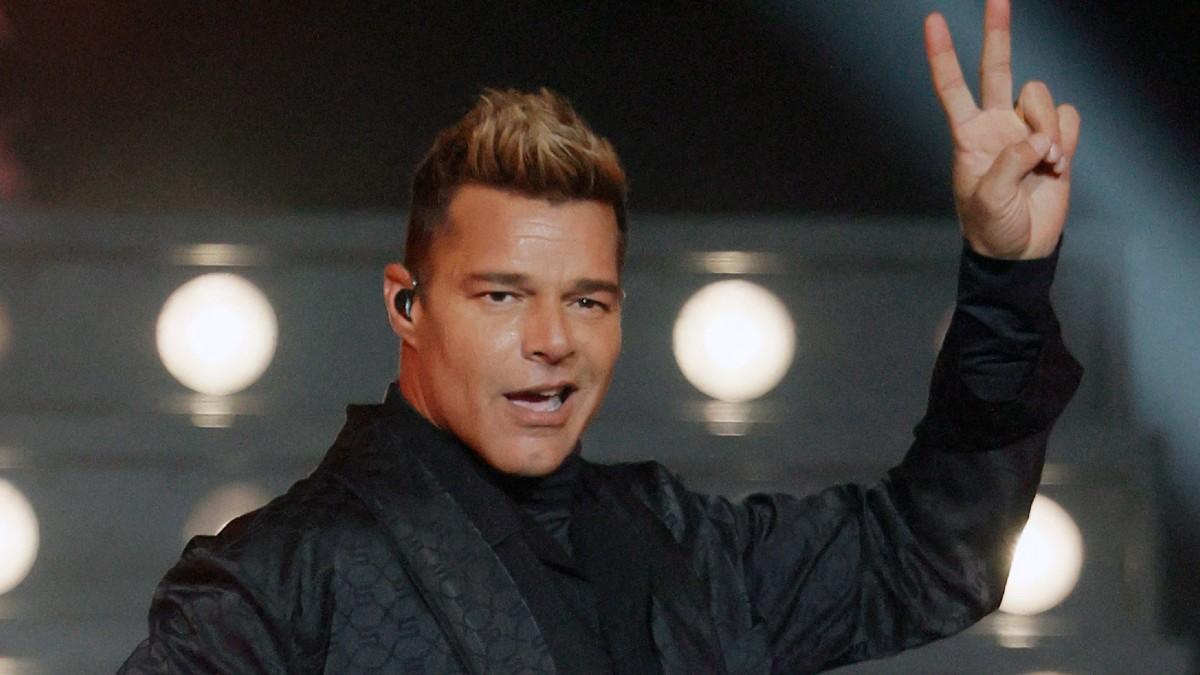 Ricky Martin Cara Cirugía