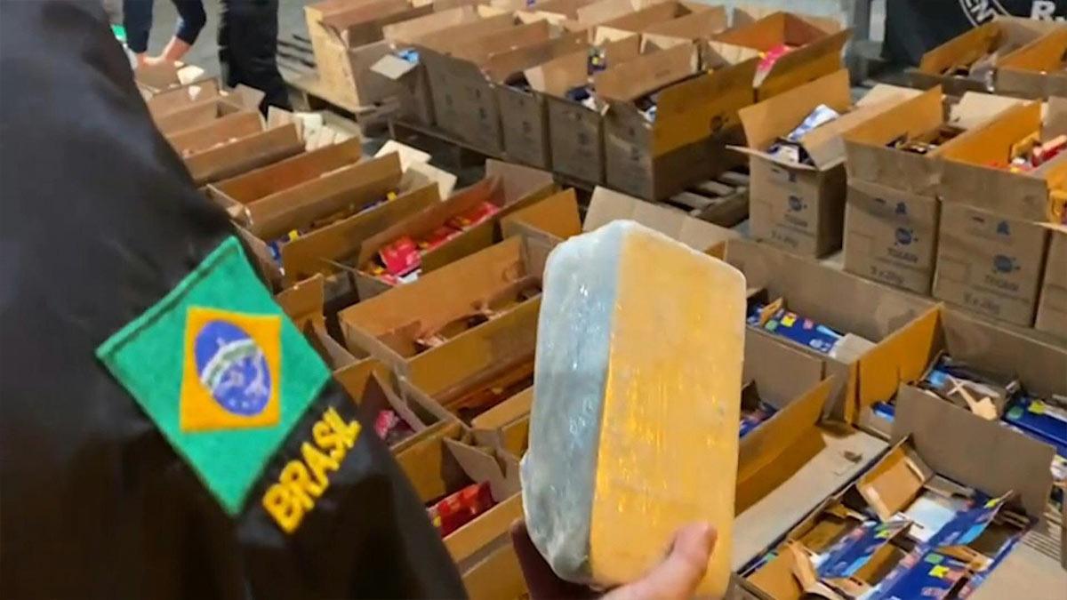 Río de Janeiro: incautan récord de 5 toneladas de cocaína