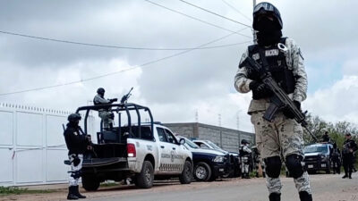 En San Luis Potosí, rescatan a 16 personas y detienen a célula criminal