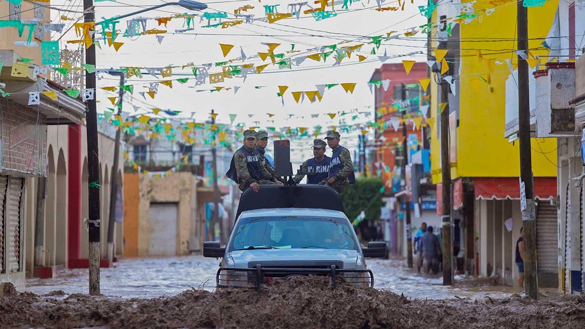 Huracán Pamela entró hoy a Sinaloa: Ve imágenes de su paso