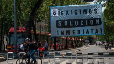 CDMX: SME marcha en la zona centro de la CDMX; ve alternativas viales