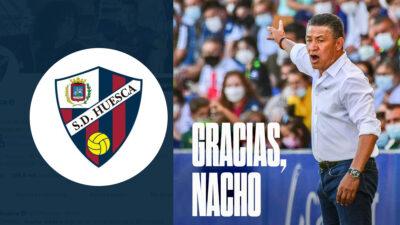 Nacho Ambriz es despedido del Huesca de España