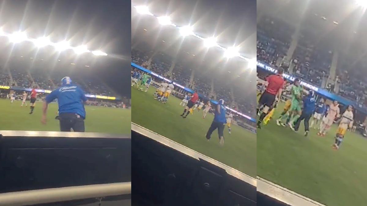 Aficionado de Cruz Azul golpea a jugador del San José Earthquakes Uno TV