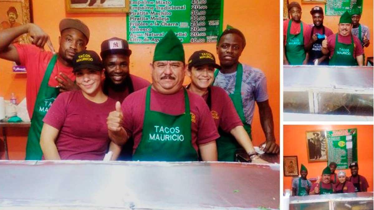 Monterrey: taquería contrata a migrantes haitianos; anuncia en redes