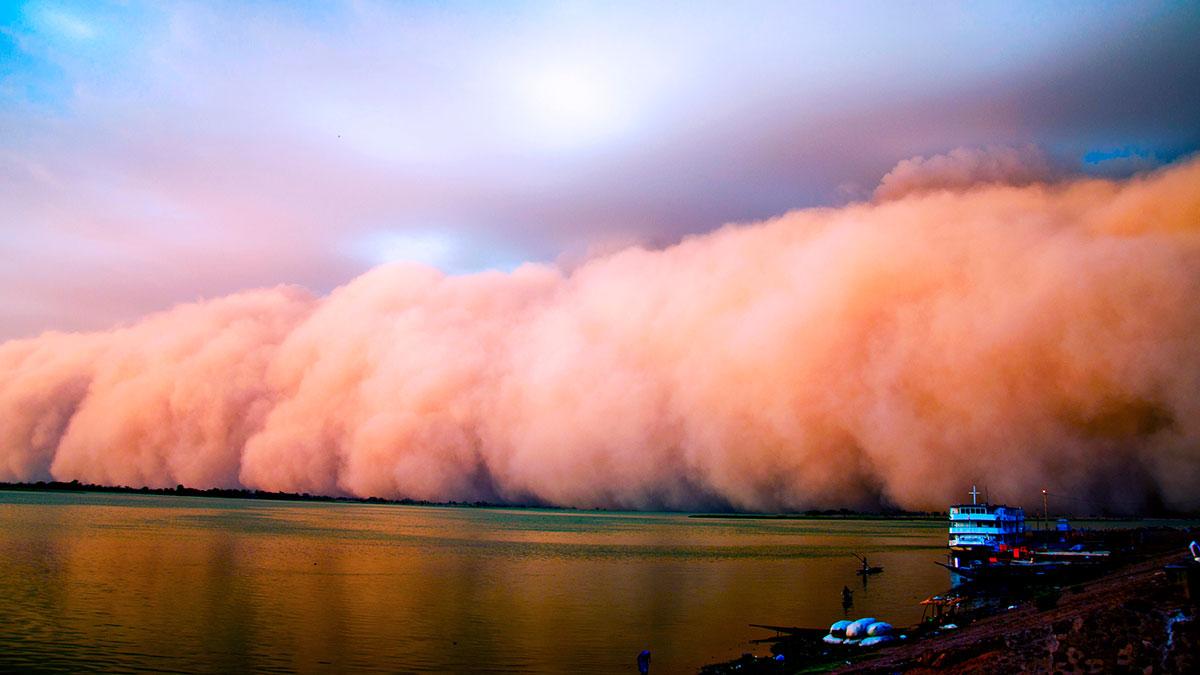 Brasil: Tormentas de arena cubren cielo de Río de Janeiro