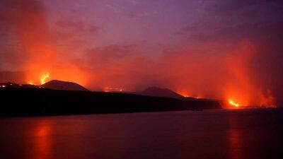 Nueva grieta en volcán de La Palma provoca río de lava