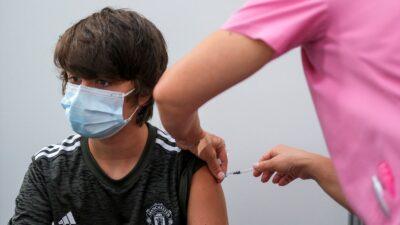 pfizer vacuna niños